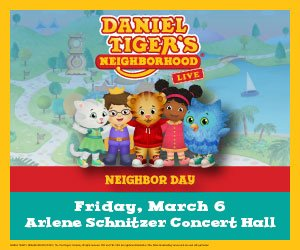 Emporium Presents Daniel Tiger's Neighborhood Live Portland Oregon Arlene Schnitzer Concert Hall