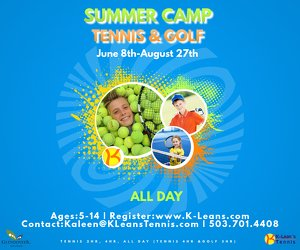 K-Leans Summer Camps Tennis & Golf Oregon