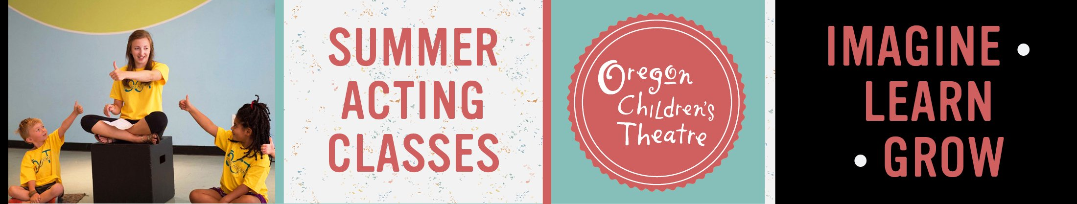 Oregon Children's Theatre Summer Acting Classes