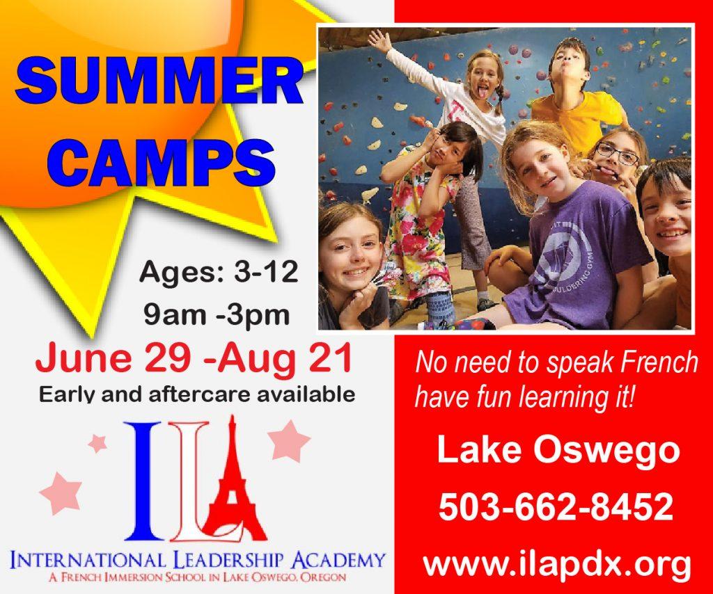 International Leadership Academy Summer Camp Oregon