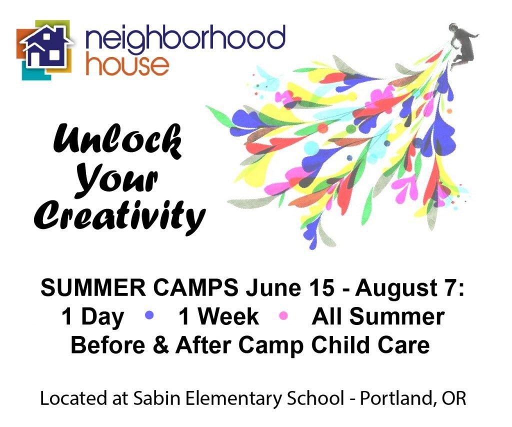 Neighborhood House Summer Camp Oregon