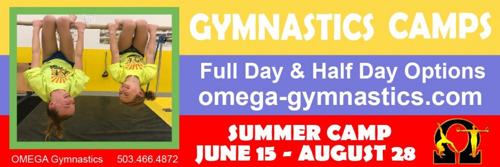 Omega Gymnastics Summer Camps Oregon