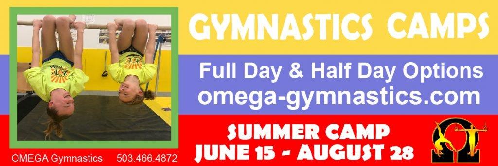 Omega Gymnastics Summer Camps Oregon