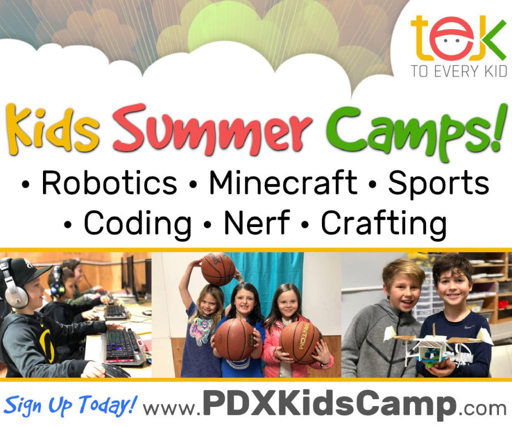 TEK To Every Kid Summer Camp Oregon