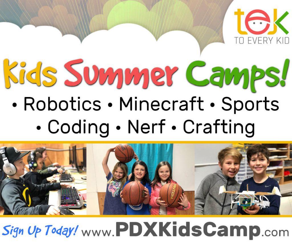 TEK To Every Kid Summer Camp Oregon
