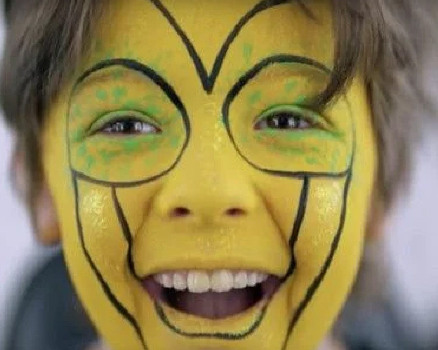 Cirque du Soleil Family Face Paint Tutorial