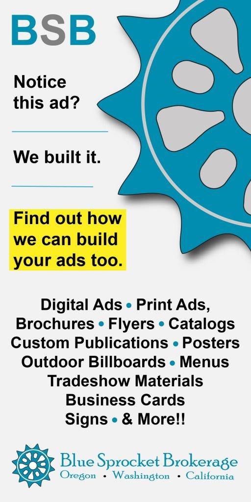 Blue Sprocket Brokerage Graphics Shop