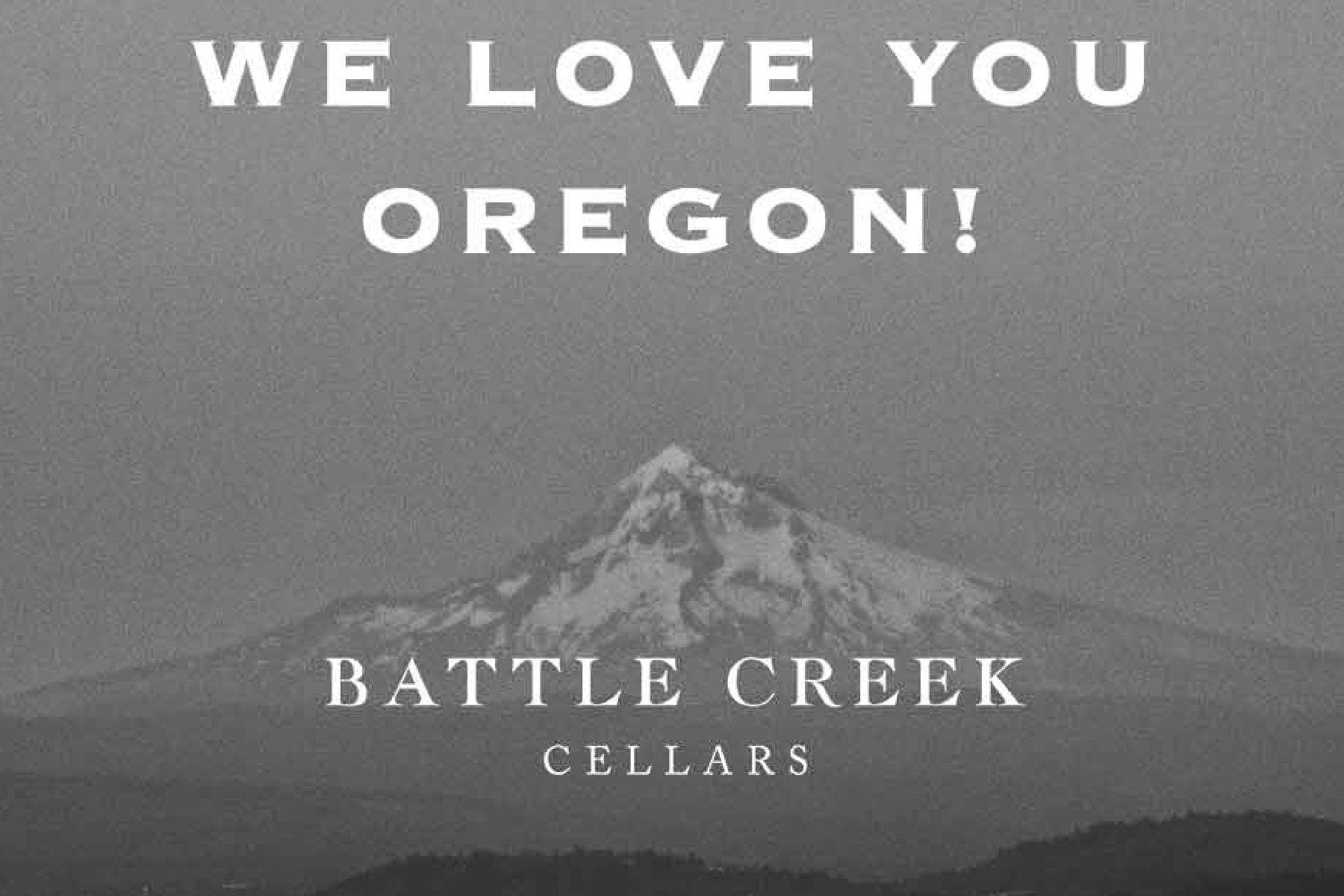 Battle Creek Cellars Oregon Food Bank Fundraiser 2020