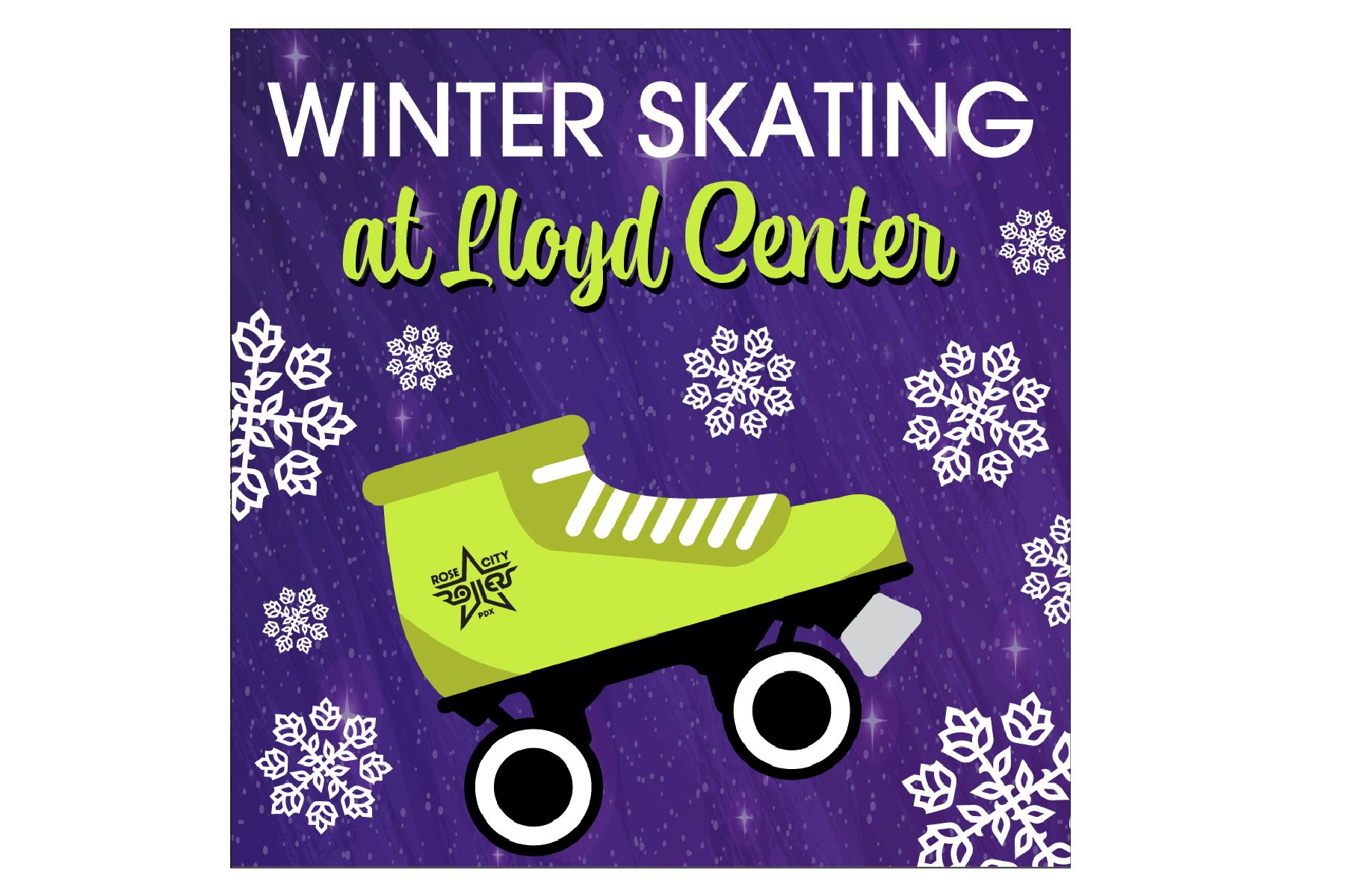 Rose City Rollers Outdoor Skating Lloyd Center Portland Oregon