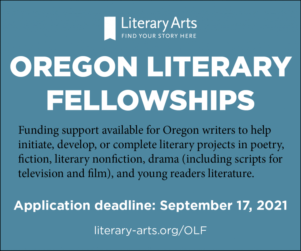 Literary Arts Oregon Literary Fellowships