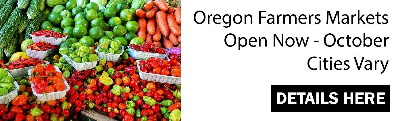 Oregon Farmers Markets