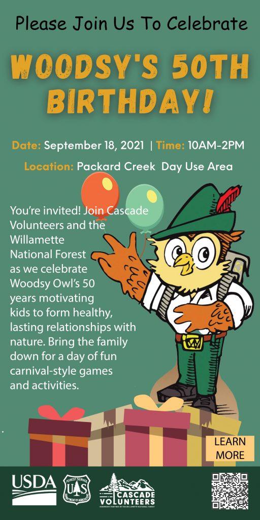 Woodsy Owl's 50th Birthday Celebration